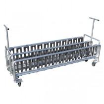 オリジナルラック01組立式・キャスター付 12×3列 36台収納 ※12×2列 24台収納もあります